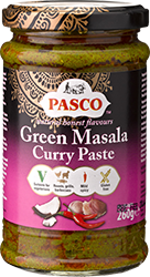 Green Masala Curry Paste